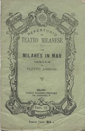 On milanes in mar. Libretto di vaudeville