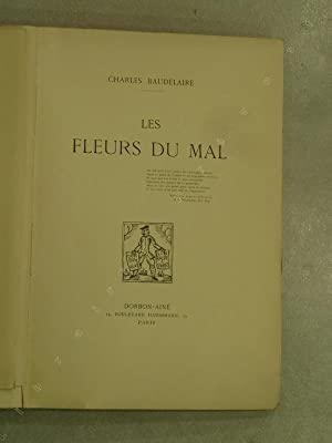 Les Fleurs du mal.: BAUDELAIRE. Charles.