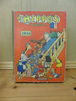 Mrs Hippo's Annual 1936 A Book of: Various