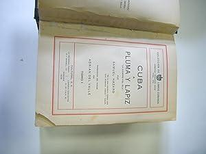 CUBA A PLUMA Y LAPIZ. 3 TOMOS EN 1 VOLUMEN.: SAMUEL HAZARD