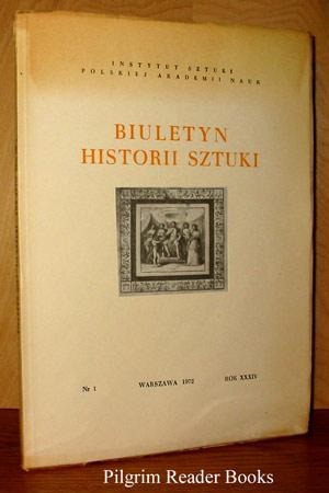 Biuletyn Historii Sztuki: Nr. 1, Rok XXXIV.: Jozef Pilch, Tadeusz