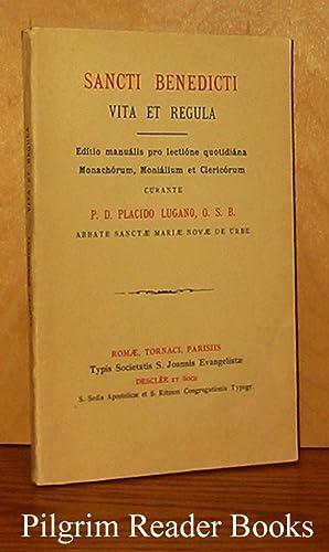 Sancti Benedicti Vita et Regula. Editio manualis: Lugano OSB., P.