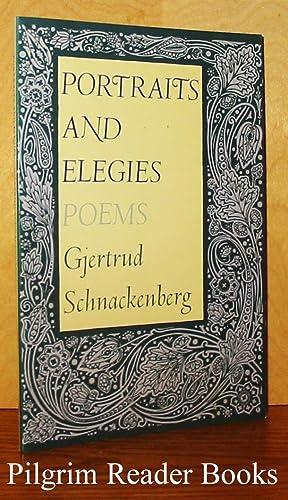 Portraits and Elegies, Poems.: Schnackenberg, Gjertrud.