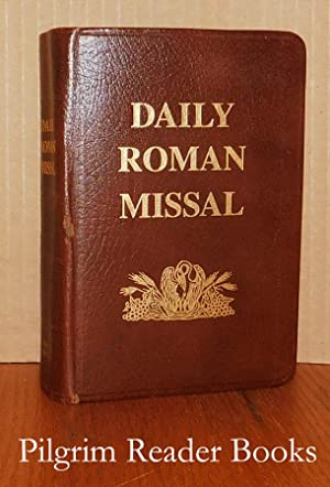 Daily Roman Missal, Sunday and Weekday Masses.: Socias, Rev. James.