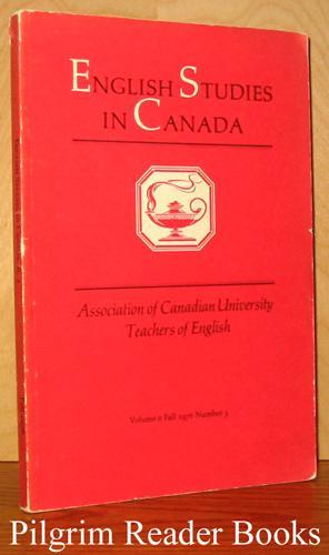 English Studies in Canada. Volume II, Number: Lane Jr., Lauriat