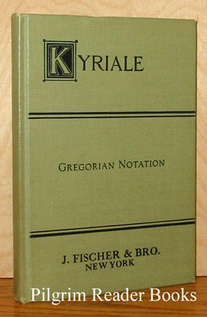 Kyriale Seu Ordinarium Missae: Gregorian Notation (4002).