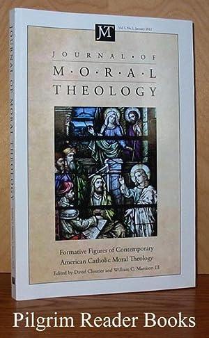 Journal of Moral Theology. Volume 1, Number: McCarthy, David M.