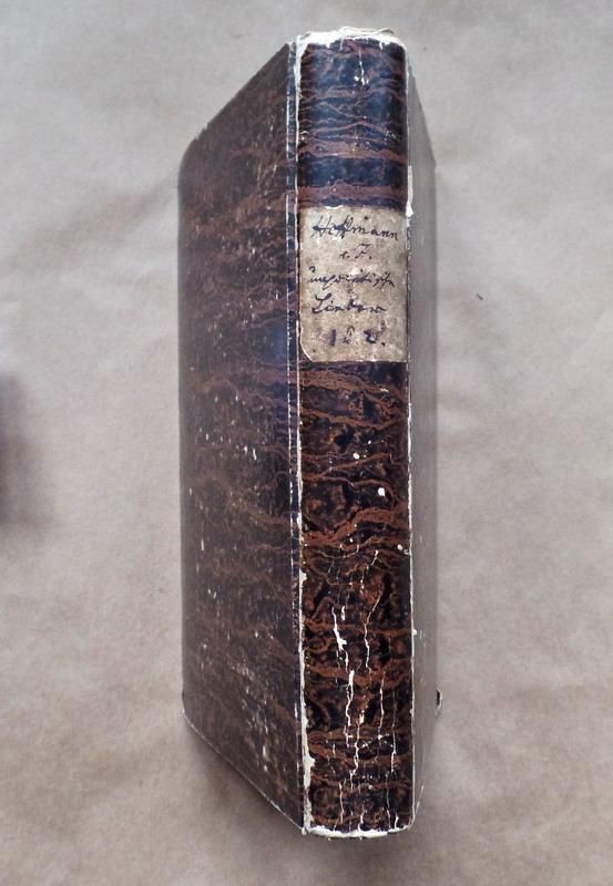 Unpolitische Lieder. Hamburg Hoffmann und Campe /1840,: Fallersleben, Hoffmann von