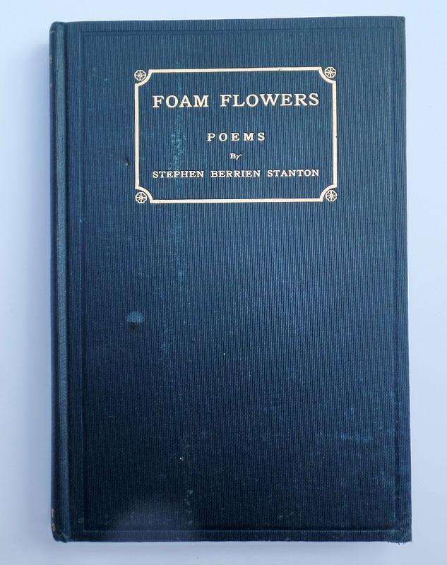 Foam Flowers Poems Gebunden Oder
