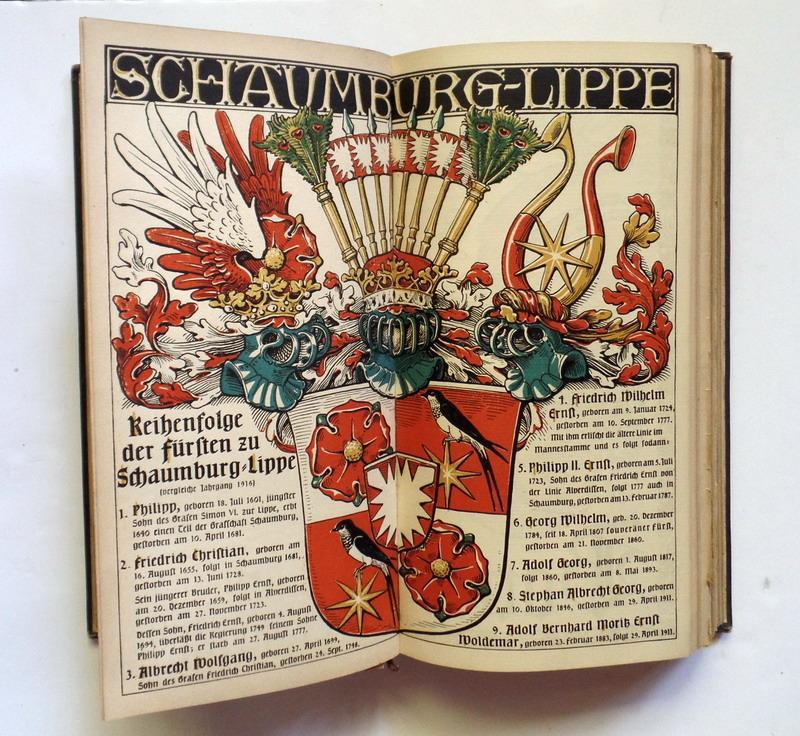 Münchener Kalender 1914 1929 München U Regensburg Druck Und