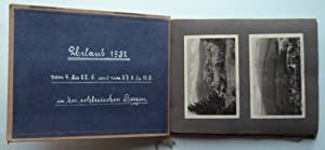 Urlaub 1932 vom 4. bis 22. 6. und vom 27.8. bis 11.9. in den schlesischen Bergen. Fotoalbum mit 20 ...