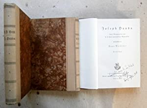 Joseph Haydn. 3 Bände. Band 3: Unter Benutzung der von C.F: Pohl hinterlassenene Materialien ...