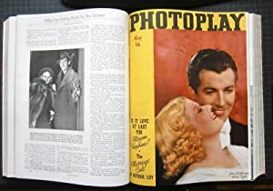 PHOTOPLAY, The Aristocrat of Motion Picture Magazines. Vol. LII, No. 1 - 9, 1937. Ruth Waterbury, ...