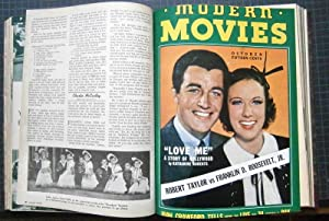 Modern Movies. The Hollywood Classic. Vol. 1, Hefte 1 - 6, Jahrgang 1937. 4°, mit zahlr. Abb. Ult...