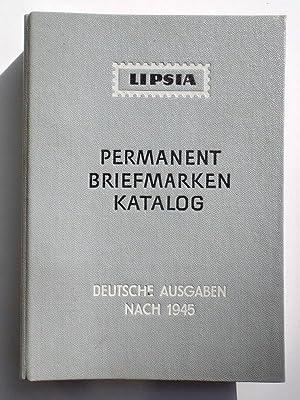 Lipsia Permanent Briefmarken Katalog. Deutsche Demokratische Republik.