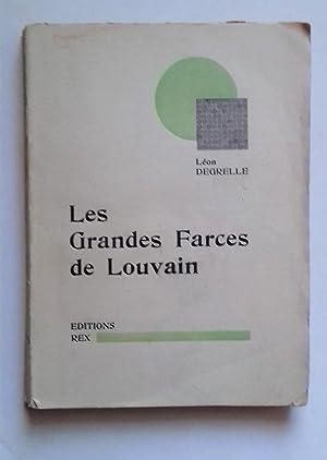 Les Grandes Farces de Louvain.: DEGRELLE, Leon.