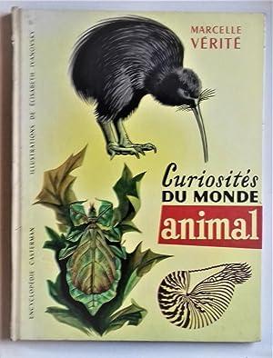 Curiosites du Monde animal. Aquarelles de Elisabeth IVANOVSKY.: IVANOVSKY] - VERITE, Marcelle.