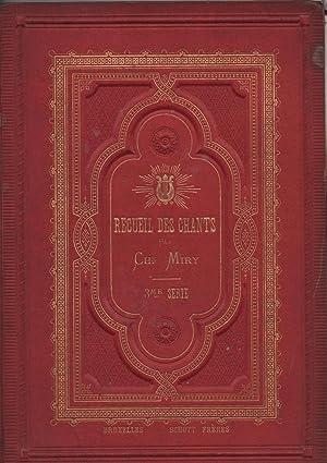 Recueil de Chants français et flamands - Avec accompagnement de Piano à l'usage des écoles.et ...