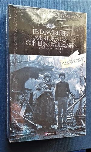 Les Desastreuses Aventures des Orphelins Baudelaire.- Coffret 3 volumes - Tome 1 : Tout commence ...