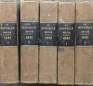 LA NOUVELLE REVUE 1881 - Vol. 3: REVUE] Juliette ADAM