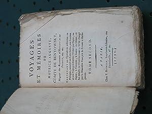 Voyages et Mémoires de Maurice-Auguste, Comte de Benyowsky, Magnat des Royaumes d'Hongrie et de...