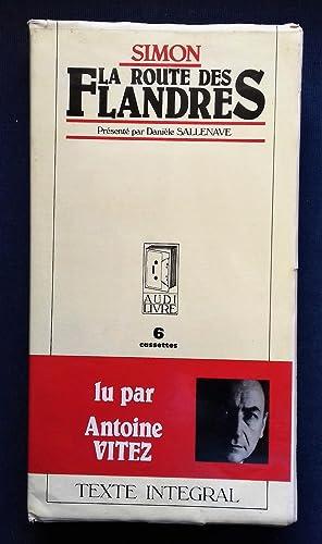 LA ROUTE DES FLANDRES. Enregistrement audio présenté: Claude SIMON -