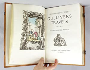 GULLIVER'S TRAVELS: VELLUM PRINTING). (CRESSET