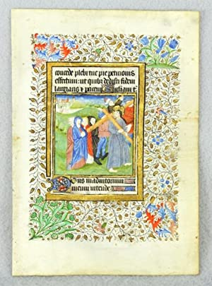 USE OF SAINTES. TEXT FROM THE HOURS OF THE CROSS
