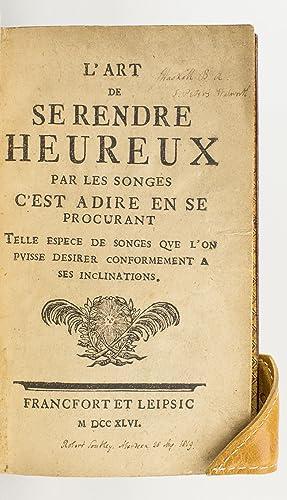 L'ART DE SE RENDRE HEUREUX PAR LES: SOUTHEY, ROBERT -