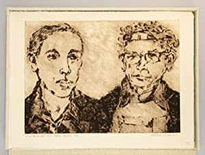 PORTRAITS - FRIENDS - ARTISTS: DRYPOINTS, ETCHINGS, WOODCUTS OF OREGON ARTISTS BY LAVERNE KRAUSE,...