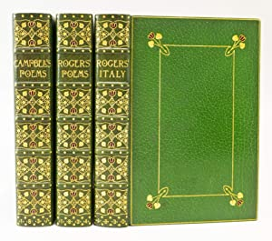 ITALY, A POEM. [and] POEMS. [and, as: BINDINGS - RIVIERE).