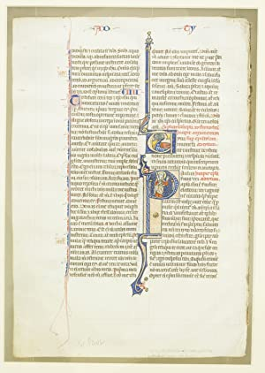 TEXT FROM THE END OF 2 TIMOTHY: AN ILLUMINATED VELLUM