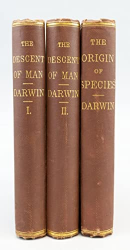 THE DESCENT OF MAN. [with] ON THE: DARWIN, CHARLES