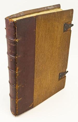 THE PRAYER BOOK OF KING EDWARD VII: ESSEX HOUSE PRESS).