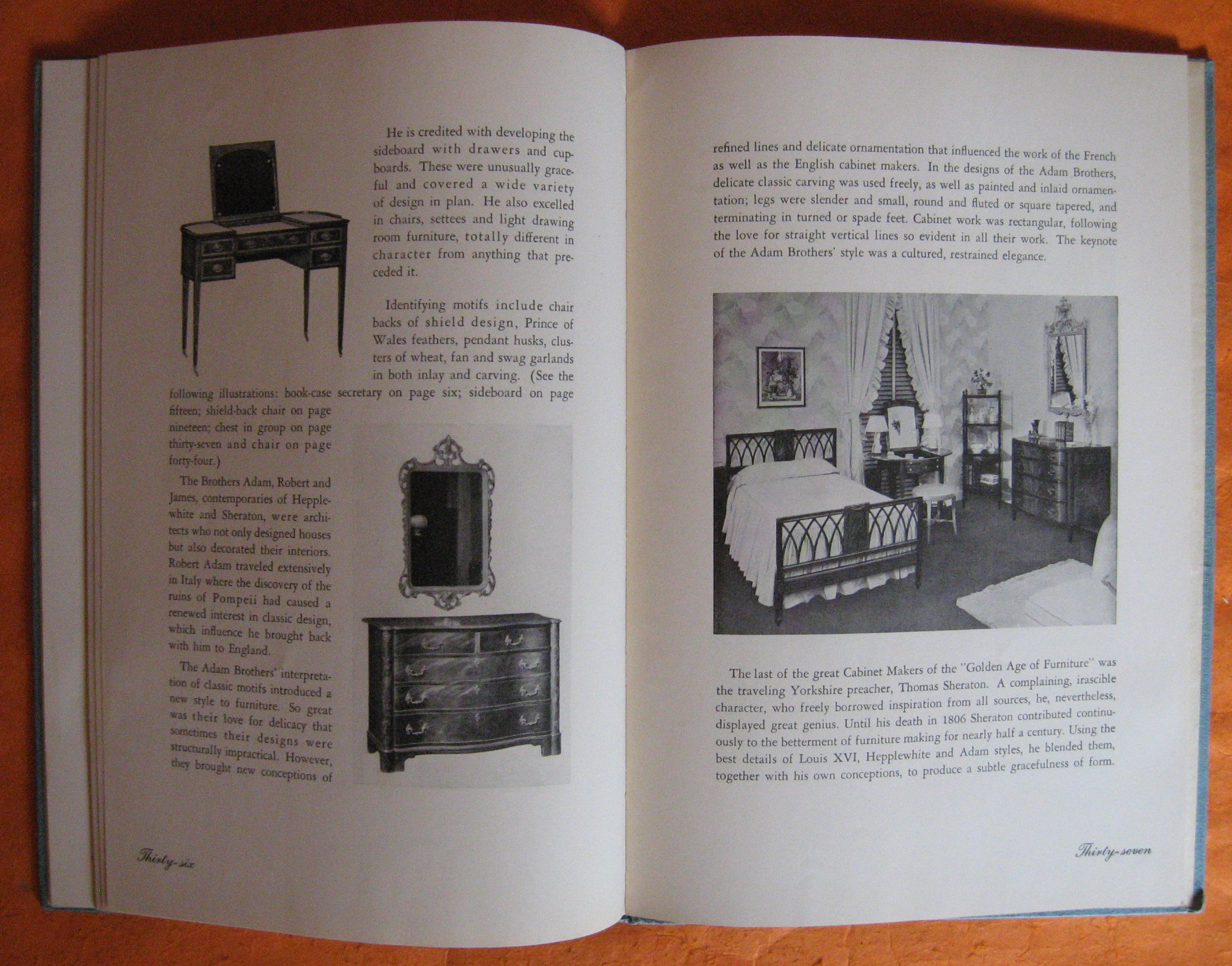 Fast Deliver Rare 1940 Guide To English French Furniture Of The 18th Century Baker Furniture Price Guides & Publications Furniture