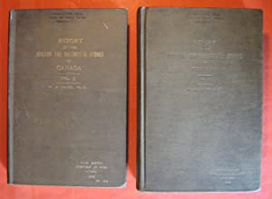Report on the Building and Ornamental Stones of Canada Vols. 1 & 2