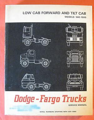 Dodge - Fargo Trucks Models 500 Through 1000 Low Cab Forward Tilt Cab Service Manual: Staff