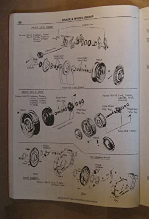 1963 - 1974 Ford Products Interchange Manual: Staff