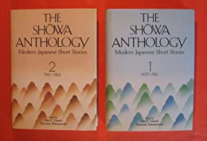 The Showa Anthology: Modern Japanese Short Stories 1929-1961 (V. 1) and Modern Japanese Short Sto...