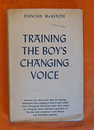 Training the Boy's Changing Voice