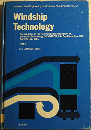 Windship Technology: Proceedings of the International Symposium on Windship Technology (Windtech ...