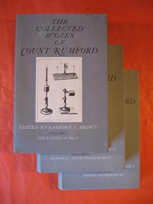 Collected Works of Count Rumford (Volumes I - III)