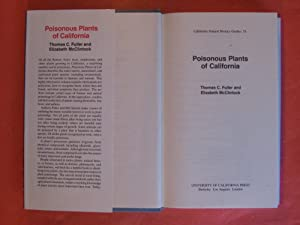 Poisonous Plants of California (California Natural History Guides)