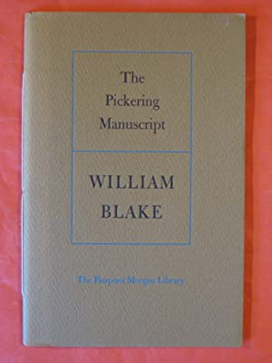 The Pickering Manuscript