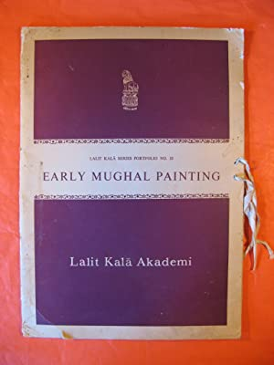 Early Mughal Painting [lalit Kala Series Portfolio # 10]