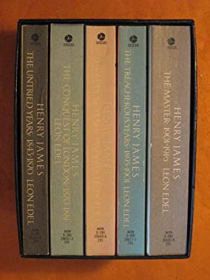 Henry James the Complete Biography -- 5 Vol. Boxed Set