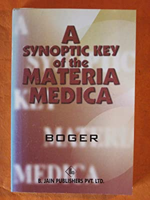 A Synoptic Key of the Materia Medica