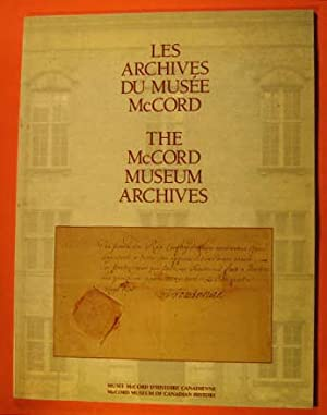 Les Archives Du Musee McCord/The McCord Museum Archives