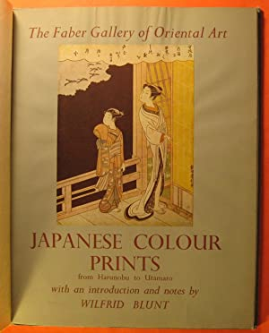 Japanese Colour Prints from Harunobu to Utamaro