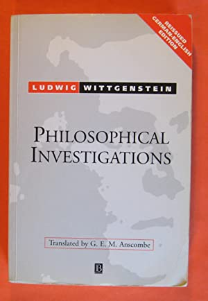 Philosophical Investigations/Philosophische Untersuchungen